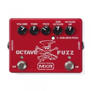 MXR Slash Octave Fuzz SF01R Limited Edition - Ruby Red Metallic