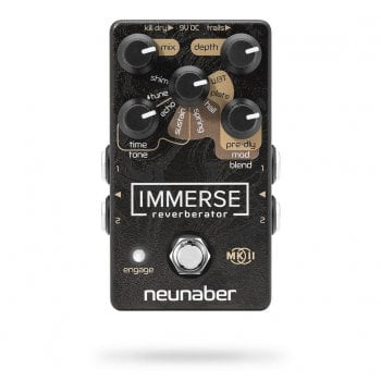 Neunaber Immerse Reverberator Mk II Reverb Pedal