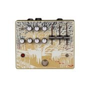 Old Blood Noise Endeavors Alpha Haunt Fuzz Gold / White