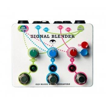 Old Blood Noise Endeavors Signal Blender Pedal