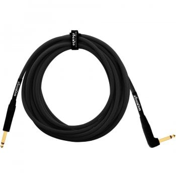 Orange Amps Guitar Cable 6m (20ft) Angled/Straight (Black)