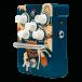 Orange Kongpressor Compressor Guitar Effects Pedal