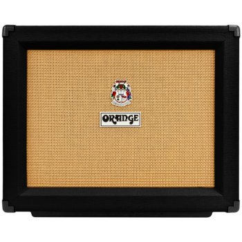 Orange PPC112 Closed Back 1x12 Guitar Speaker Cabinet (Black)