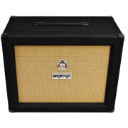 Orange PPC212 Closed Back 2x12 Guitar Speaker Cabinet (Black)
