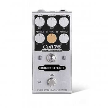 "Origin Effects - Cali76 Compact ""Stacked Edition"" Class-A Compressor Pedal"