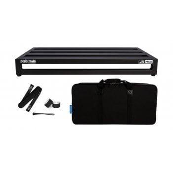 Pedaltrain JR MAX Guitar Pedal Board with Soft Case