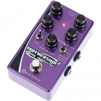 Pigtronix Mothership 2 Analog Synthesizer Guitar Effects Pedal