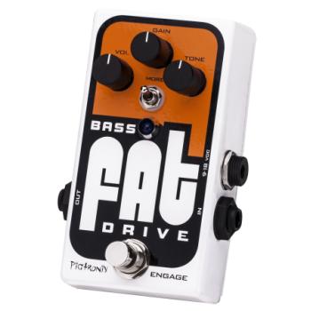 Pigtronix Bass Fat Drive Pedal