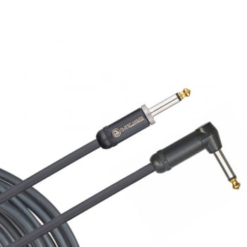 Planet Waves American Stage Instrument Cable - 15 ft / 4.5 m Right Angled To Straight