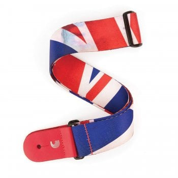 Planet Waves D'Addario P20S1505 Distressed Union Jack Guitar Strap