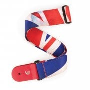 D'Addario P20S1505 Distressed Union Jack Guitar Strap