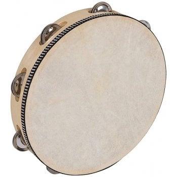 """PP PP4004 World 10"""" Tambourine - Light - Round"""