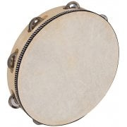 "PP4004 World 10"" Tambourine - Light - Round"