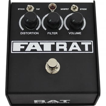 Proco Fat Rat Distortion Pedal for Guitar