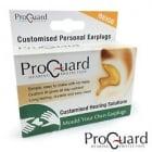 ProGuard (Mould Your Own) Personalised Earplugs - BEIGE