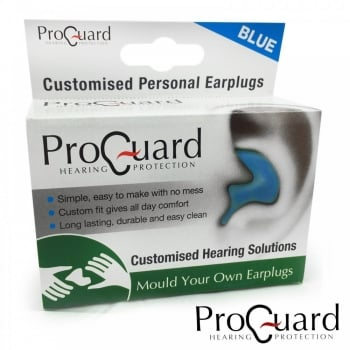 Proguard (Mould Your Own) Personalised Earplugs - BLUE