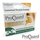 ProGuard (Mould Your Own) Personalised Earplugs - RED