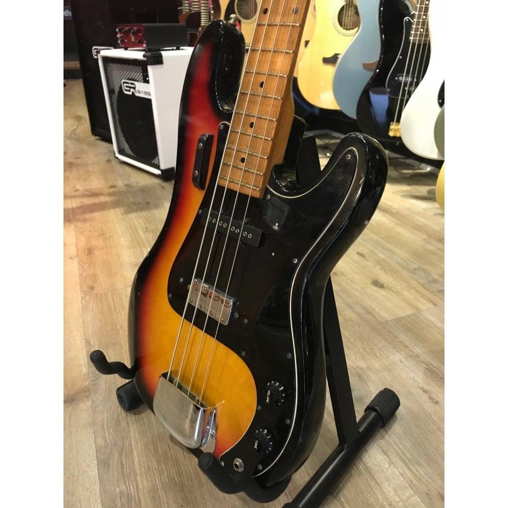 Rare Hondo II Precision Style Bass Guitar - Preowned