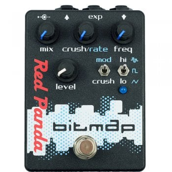 Red Panda BitMap Bitcrusher Guitar Pedal