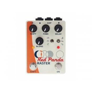 Red Panda Raster Delay & Pitch Shifter Guitar Pedal