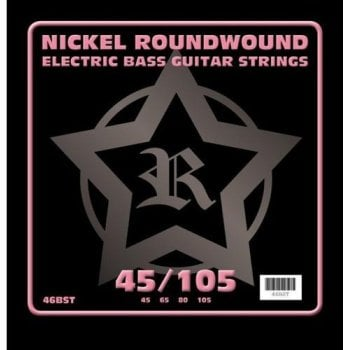 Rosetti Bass Guitar Strings Nickel Roundwound 45-105