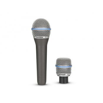 Samson CS1 and CS2 Interchangeable Microphone