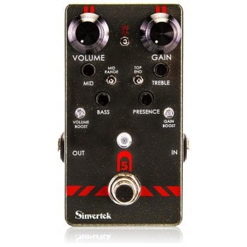Sinvertek Drive N5 Preamp Overdrive Guitar Pedal