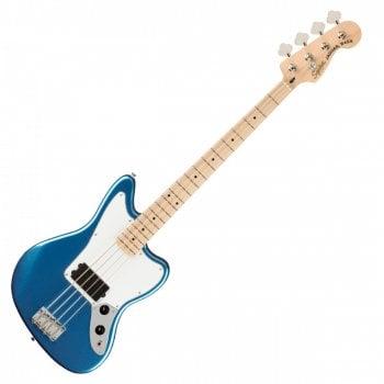 Squier Affinity Jaguar Bass, Maple Fingerboard, White Pickguard, Lake Placid Blue