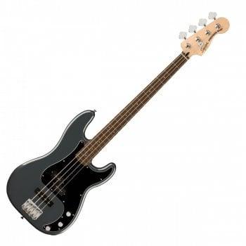 Squier Affinity Series Precision Bass PJ, Laurel Fingerboard, Charcoal Frost Metallic
