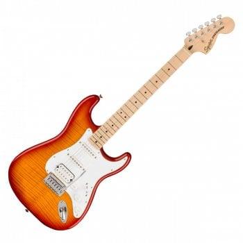 Squier Affinity Stratocaster, FMT HSS, Maple Fingerboard, Sienna Sunburst