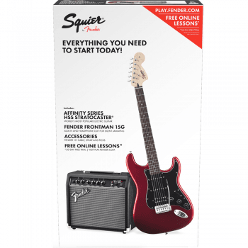 Fender Squier by Fender Affinity Series Stratocaster HSS Pack - Candy Apple Red