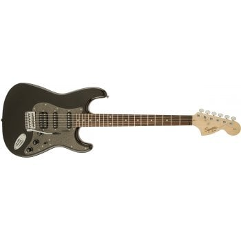 Squier by Fender Affinity Series Stratocaster HSS Rosewood Fingerboard - Montego Black Metallic