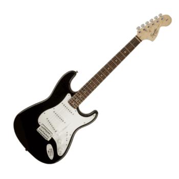 Fender Squier by Fender Affinity Stratocaster, Laurel Fingerboard, Black