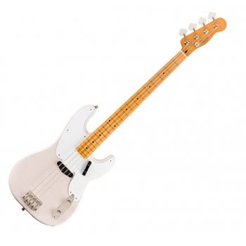 Squier by Fender Classic Vibe '50s Precision Bass in White Blonde, Maple Fingerboard