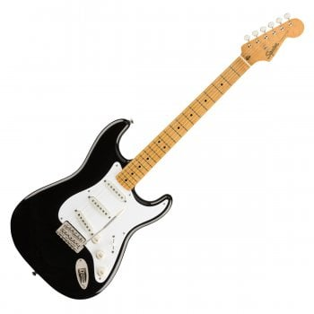 Squier by Fender Classic Vibe '50s Stratocaster, Maple Fingerboard, Black