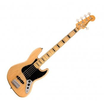 Squier Classic Vibe '70s Jazz Bass V, Maple Fingerboard, Natural