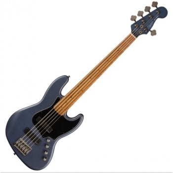 Squier FSR Contemporary Active Jazz Bass HH V, Roasted Maple