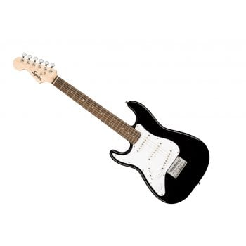 Squier Mini Strat  3/4 Size LH Electric Guitar - Black