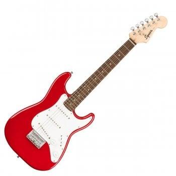 Squier Mini Stratocaster (3/4 Size), Laurel Fingerboard, Dakota Red
