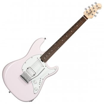 Sterling by Music Man Cutlass Short Scale Electric Guitar - Shell Pink