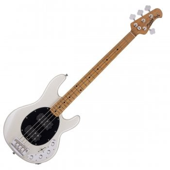 Sterling by Music Man Ray34HH Bass Maple Neck - Pearl White