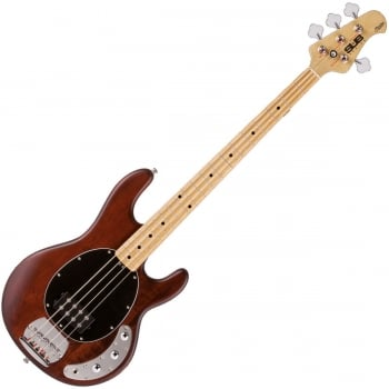 Sterling by Musicman Sub Ray 4 Bass Guitar (Walnut Stain)
