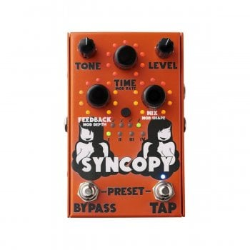 Stone Deaf Syncopy Digitally Controlled Analog Delay Pedal