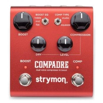 Strymon Compadre Dual Voice Compressor and Boost Pedal