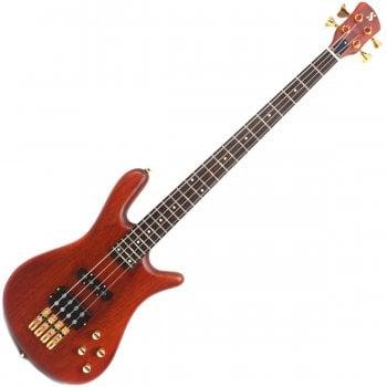 SX SWB1 Warwick Jazzman Style Active Bass Guitar - Natural