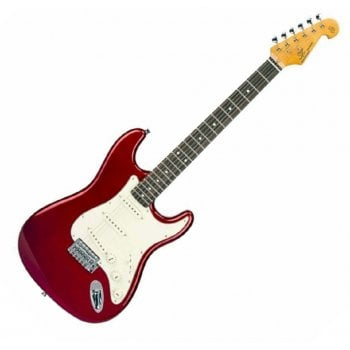 SX Vintage Series SST62+ Strat Style Electric Guitar - Candy Apple Red