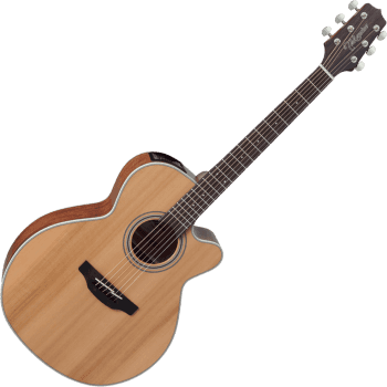 Takamine GN20CE-NS NEX Solid Cedar Top Cutaway Electro-Acoustic Guitar