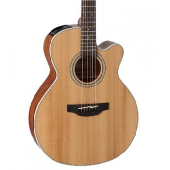 Takamine GN20CE-NS NEX Solid Cedar Top Cutaway Electro-Acoustic Guitar