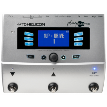 TC Helicon Play Electric Guitar Effect Processor