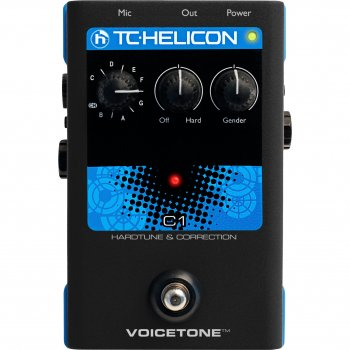 TC Helicon VoiceTone C1 - Hardtune & Correction